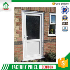 Safety exterior upvc used commercial doors on China WDMA