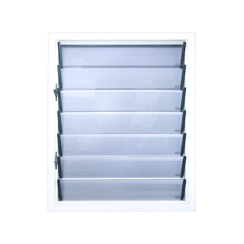 Security Design Aluminum Jalousie Window Glass Louver on China WDMA