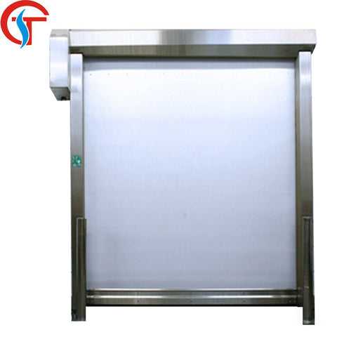 Self -repair low maintenance cost fast rolling shutter door for clean workshop on China WDMA