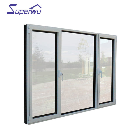 Shanghai Manufacturer Aluminum frame casement window double glass casement windows on China WDMA