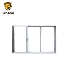 Shanghai Schupard triple balcony aluminium glass sliding door system on China WDMA