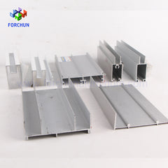 Silver and White Extrusion Alloy Window Frame Aluminum on China WDMA