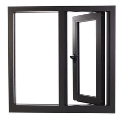 Simple Design Energy Efficient Casement Double Pane Windows Cost Guangzhou Aluminum Windows on China WDMA
