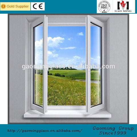 Size Customized frosted glass aluminium frame standard window sizes in india on China WDMA