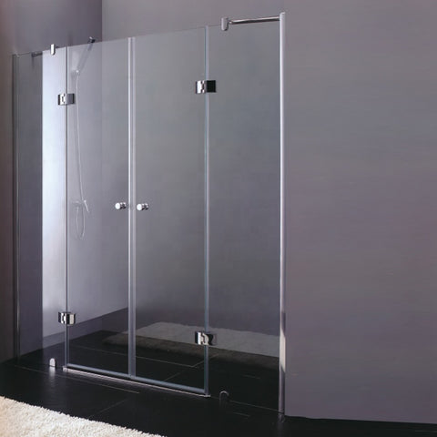Sliding Standard Sex Glass Frameless Shower Door Size Bifold Frameless Glass Shower Doors on China WDMA