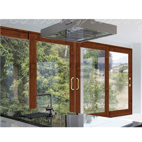 Sliding glass door with electric blinds and lift and slide door on China WDMA
