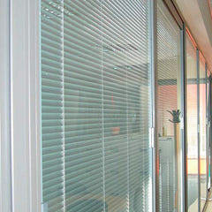 Sliding glass doors with built in blinds on China WDMA