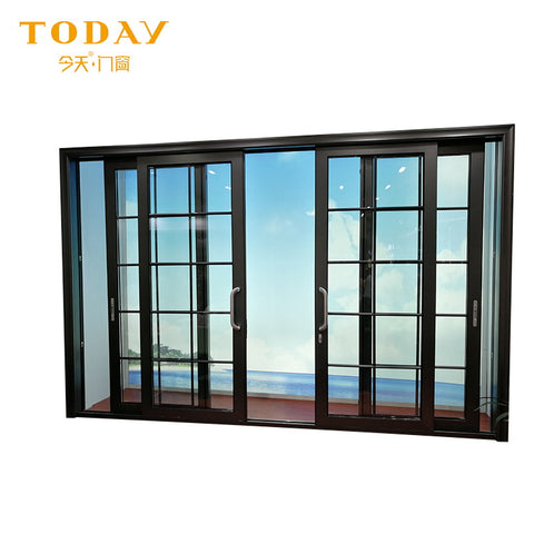 Sliding system and automatic door system with aluminum glass on China WDMA