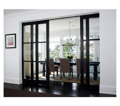 Slim Framed Painted Sliding Glass Doors with Multi-slide Patio Door on China WDMA