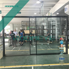 Slim system aluminum sliding door on China WDMA