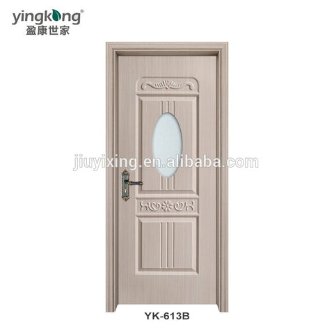 Smooth Texture Residential Luxury Exterior Security Doors Flexible Door Frames on China WDMA