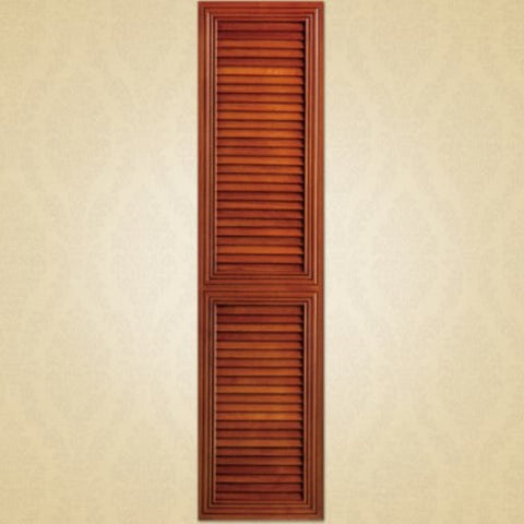 Solid Wood Shutter Shape Wardrobe Door on China WDMA