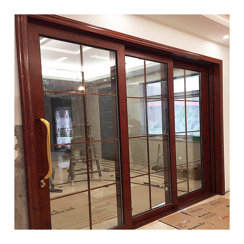 Soundproof double glass sliding window durable commercial sliding windows on China WDMA