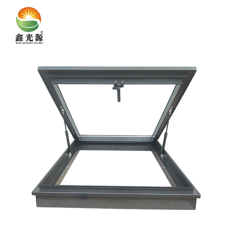 Special design aluminium sliding fashionable and skylight window with great price slope roof on China WDMA