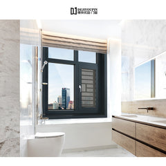 Stained or Painted Wood Grain Interior DJYP W122B Hinged and Retractable Screen Options for Best View Casement Window on China WDMA