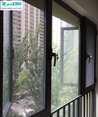 Stainless steel insect /fly screen/ mosquito mesh window screen on China WDMA