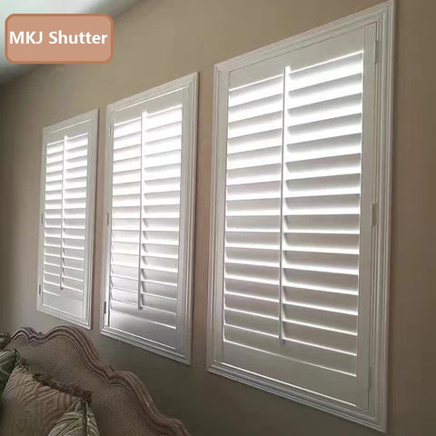 Standard PVC Window Plantation Shutters / Blinds directly from China on China WDMA