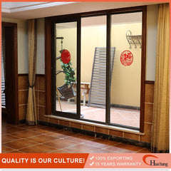 Standard Size French Style Aluminum Alloy Home Sliding Glass Doors on China WDMA