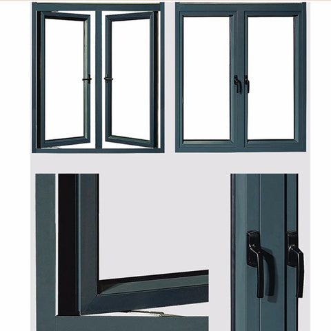 Standard Size French Style Aluminum Top Hung Windows And Doors on China WDMA