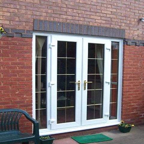 Standard Size French Style New Design UPVC Window And Door on China WDMA