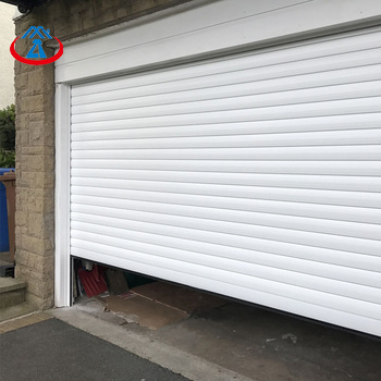 Standard Size Width*Height 3.5*3m Aluminum Automatic Double Layer Shutter Door Garage Door on China WDMA