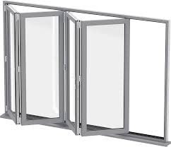 Standard Sizes Aluminum Bi-Fold Glass Window Aluminium Extrusion Profile Frame on China WDMA