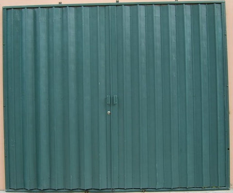 Steel security folding accordion hurricane shutter doors on sale on China WDMA