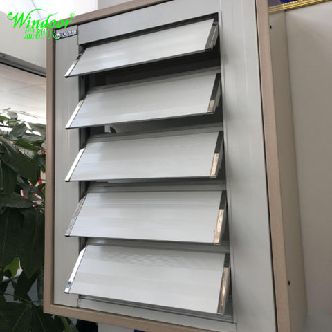 Sun Shade Fixed Aluminum Louver Shutter Windows and Doors on China WDMA