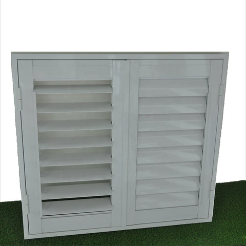 Sun adjustable louver shutter aluminum window louver prices motor plantation shutters from china on China WDMA