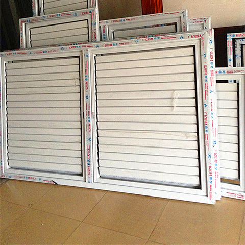 Super Upvc Shutter Sliding Windows With Blinds Between Glass on China WDMA
