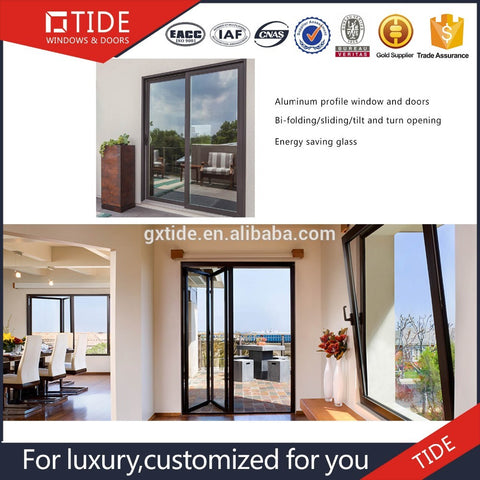 Super Wide Heavy Sliding High Quality Vinyl Patio Door Aluminum Clad Solid Oak Wood Door With 10 Years Experience on China WDMA