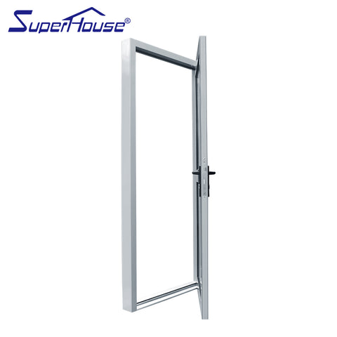 Superhouse Australia standard aluminum half glass french/casement door on China WDMA