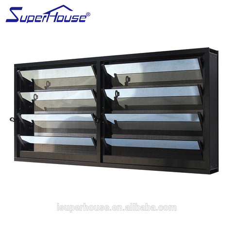 Superhouse aluminum frame glass louvre windows/shutters with louvres with Glass Louvres Frame System on China WDMA