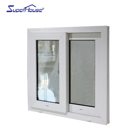Superhouse cheap PVC vinyl sliding house window for sale based on australian standard on China WDMA