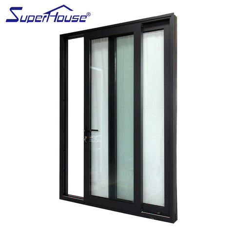 Superhouse customized exterior use aluminum glass door philippines prices on China WDMA
