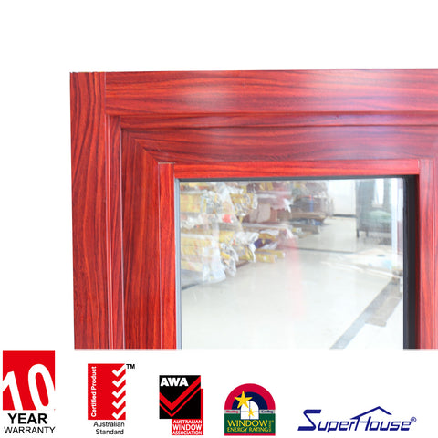 Superhouse high-end design interior or exterior used aluminium glass bifold door on China WDMA