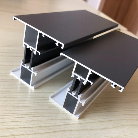 Superior Quality Sliding Casement Window Tempered Glass Door Extruded types of Aluminum extrusion Profile on China WDMA