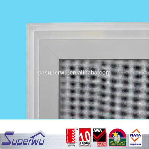 Superwu economic cheap price of aluminium sliding window price philippines on China WDMA
