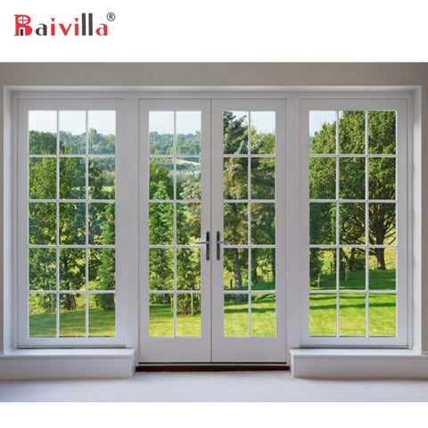 Swing Open Style And Interior Position High Quality French Casement Door on China WDMA