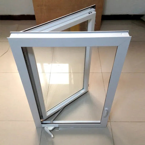 Swing out upvc opening window hand crank opener america type upvc windows on China WDMA