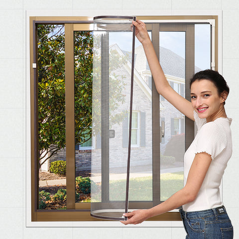 Swinging casement window uesd DIY fiberglass window screens on China WDMA