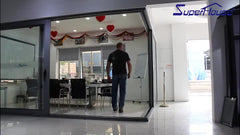 Australia standard matt black color interior/exterior french aluminium lift and sliding door with low price on China WDMA