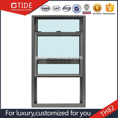 TH82 vertical aluminum single hung window design on China WDMA