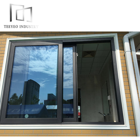Teeyeo Commercial/School sliding window aluminium frame on China WDMA