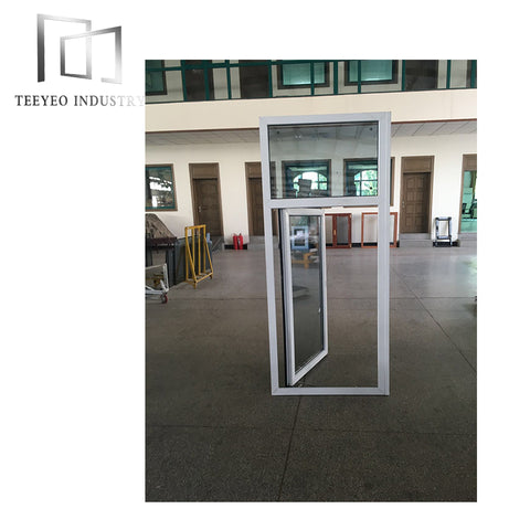 Teeyeo UPVC casement double glazed window units supply only on China WDMA