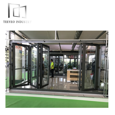 Teeyeo aluminium slide and bifold door suppliers on China WDMA