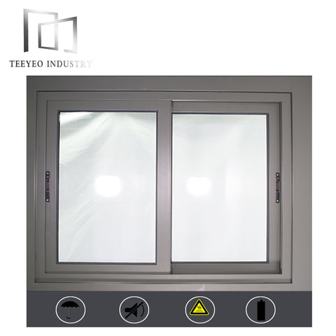 Teeyeo double glass window aluminium sliding window on China WDMA