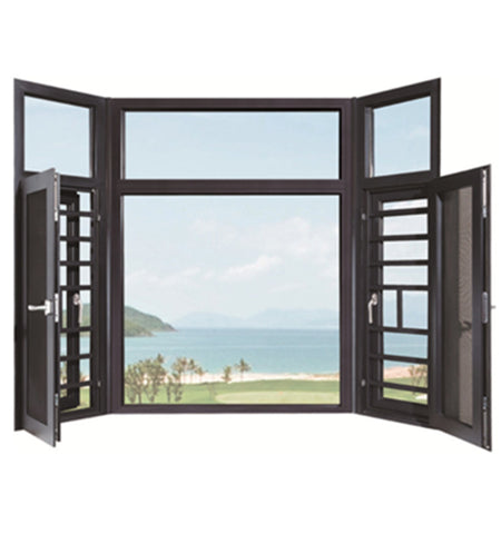 Tempered glass aluminium frame home windows and door new aluminium window designs in kerala on China WDMA