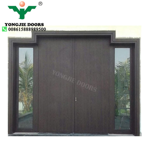 The best sliding aluminum glass front exterior room door design on China WDMA