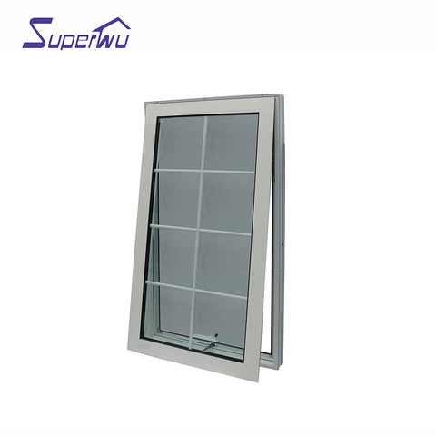 The newest exterior door with opening window new design aluminum for mobile home high quality on China WDMA